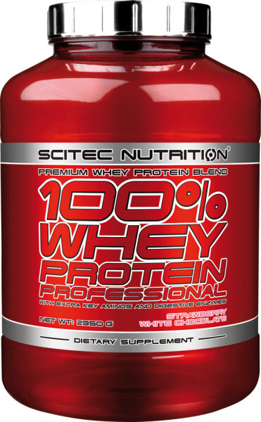100% WHEY PROTEIN PROFESSIONAL Scitec Nutrition 2350 g Karamell,