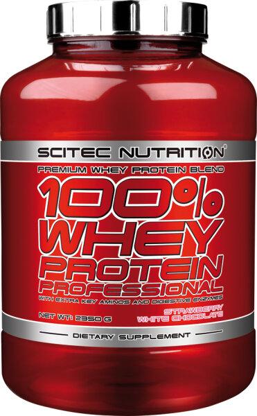 100% WHEY PROTEIN PROFESSIONAL Scitec Nutrition 2350 g Schokolade