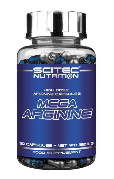 MEGA ARGININE Scitec Nutrition 90 Kapseln