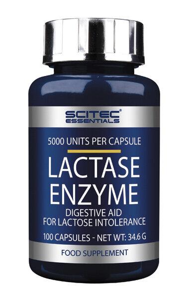 Lactase Enzyme Scitec Nutrition 100 Kapseln