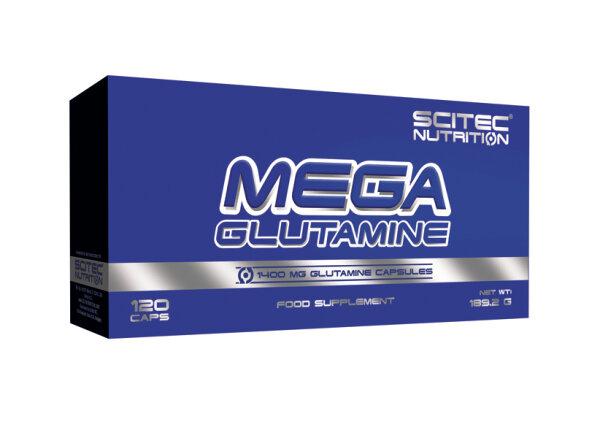 MEGA GLUTAMINE Scitec Nutrition, 120 capsules