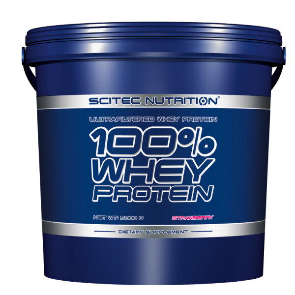 100% WHEY PROTEIN, Scitec Nutrition 5000 g