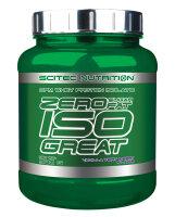 Zero Sugar - Zero Fat Isogreat Scitec Nutrition 900 g