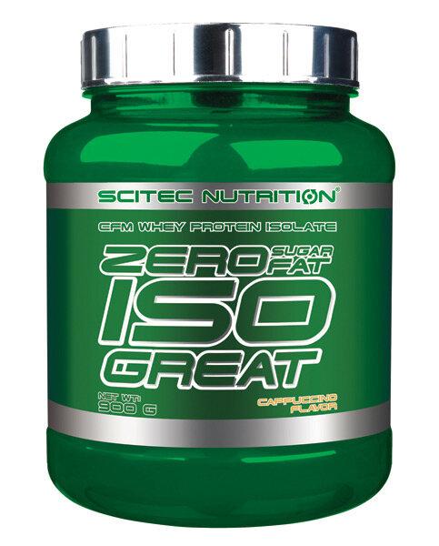 Zero Sugar - Zero Fat Isogreat Scitec Nutrition 900 g Erdbeer