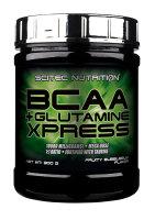 BCAA + Glutamine XPRESS Scitec Nutrition 300g Fruchtiger Bubblegum-Geschmack