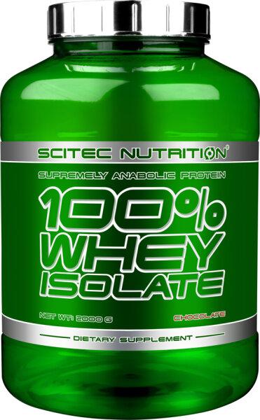 100% WHEY ISOLATE Scitec Nutrition, 2000 g Schokolade