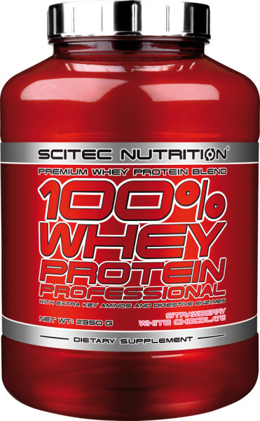 100% WHEY PROTEIN PROFESSIONAL Scitec Nutrition 2350 g Ananas-Sahne