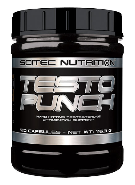 Testo Punch Scitec Nutrition 120 Kaps