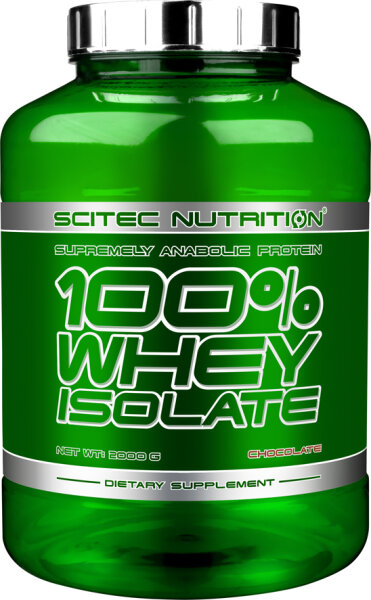 100% WHEY ISOLATE Scitec Nutrition, 2000 g Banane