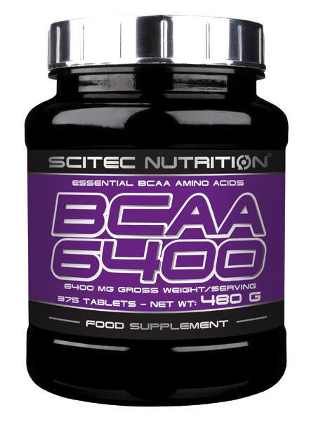 BCAA 6400 Scitec Nutrition 375 Tabletten