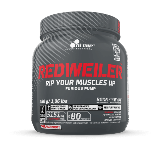 Redweiler 480 g Olimp-Germany red punch