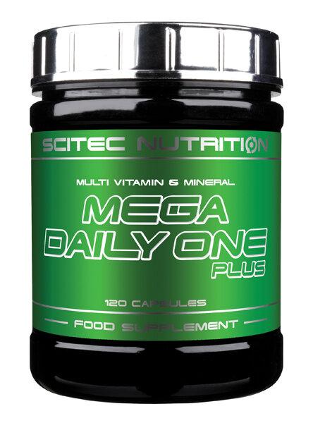 Mega Daily One Plus Scitec Nutrition 120 Capsules